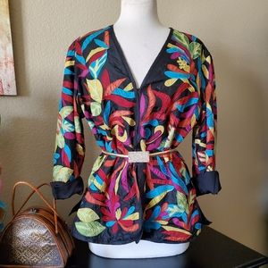 CHICO'S multicolor blazer jacket